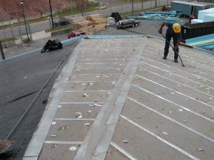 Replacement of roof & problem correction