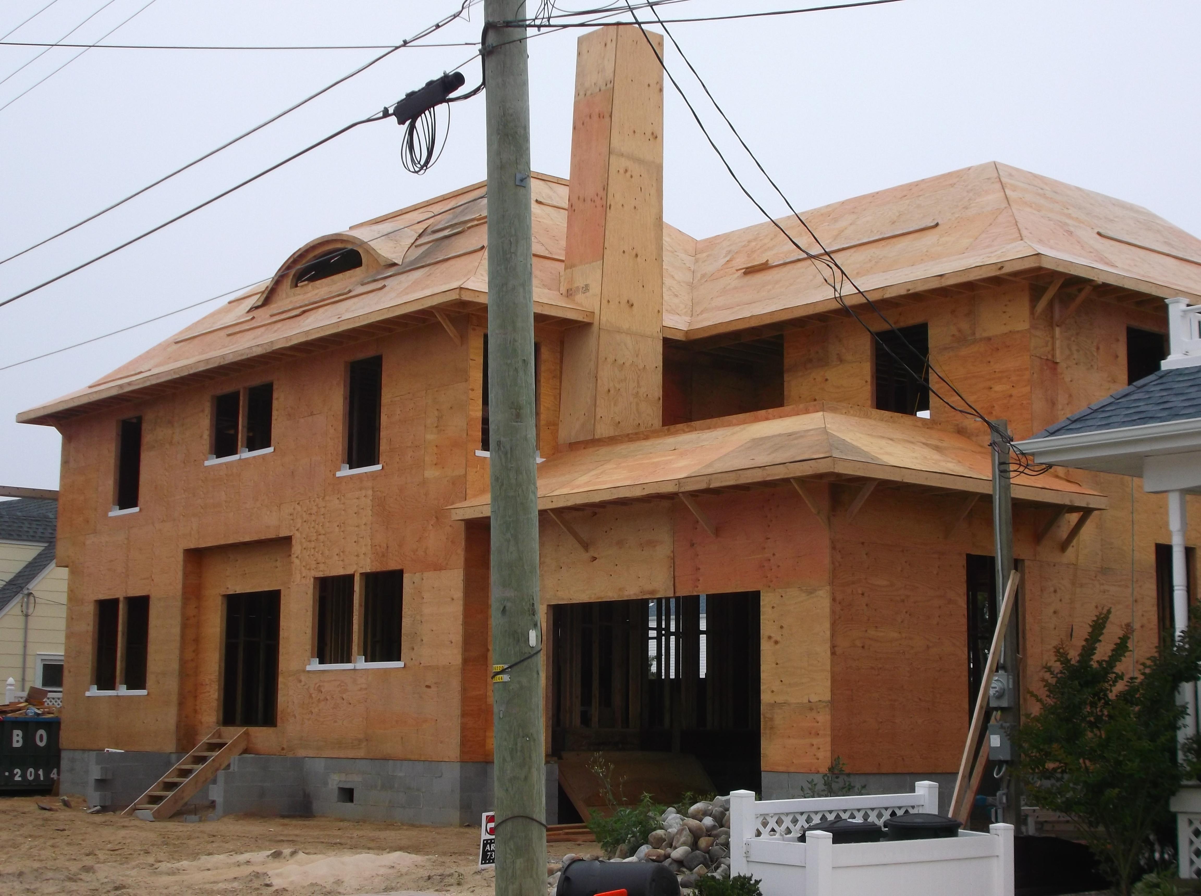 Under Construction New Home Long Beach Island Nj De