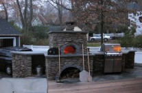 Wood-fired addition